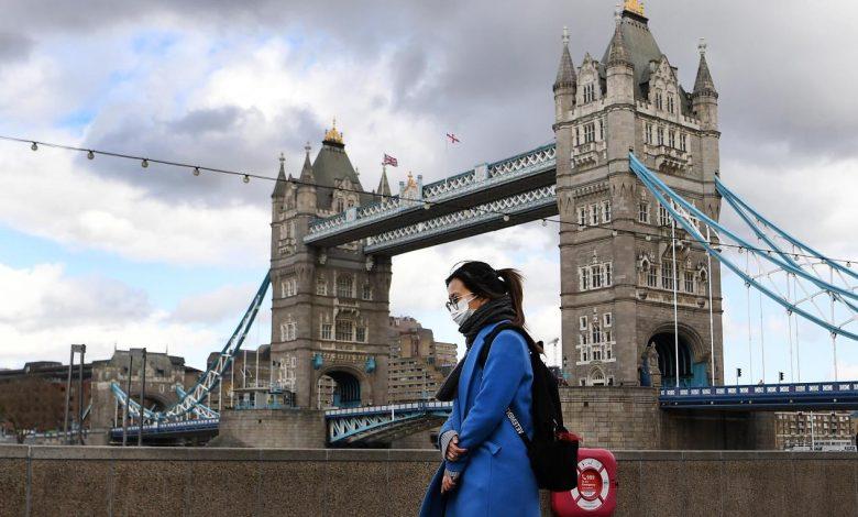 Великобритания, Лондон, пандемия коронавируса