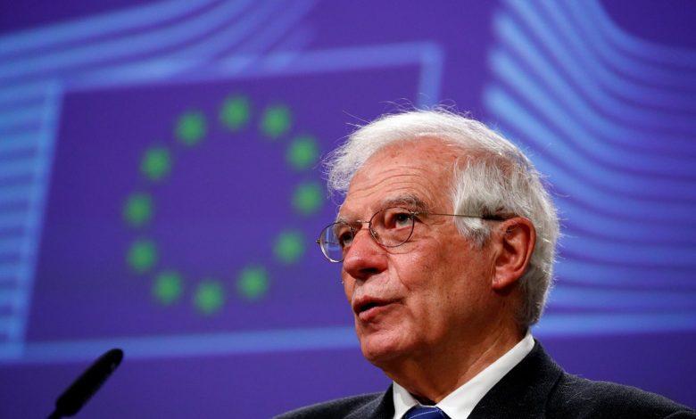 Жозеп Боррель, Евросоюз