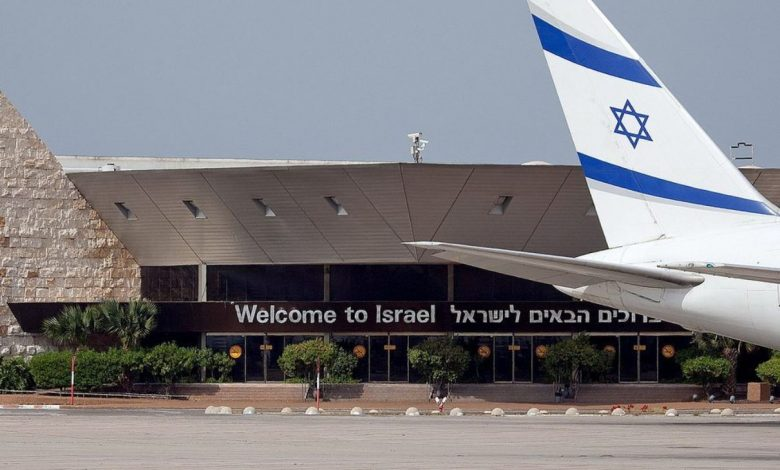 аэропорт, Израиль, самолёт