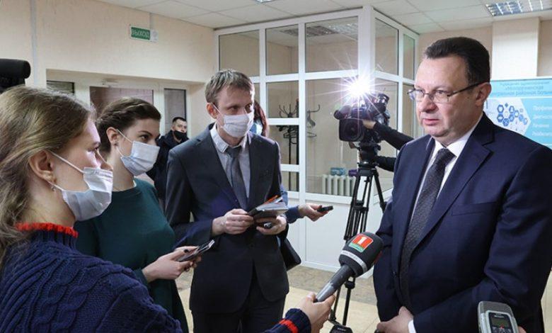 глава Минздрава Беларуси Дмитрий Пиневич