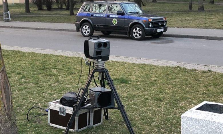 ГАИ Минской области рассказала о местах установки мобильных датчиков контроля скорости