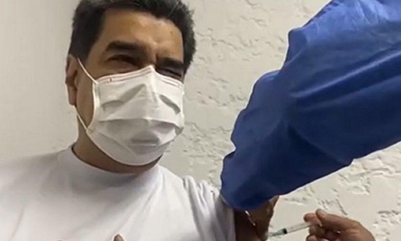 Президент Венесуэлы Николас Мадуро привился от коронавируса «Спутником V»