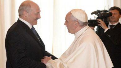 Photo of Лукашенко поздравил Папу Римского