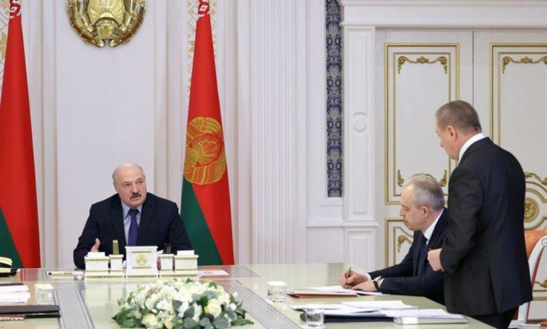 Александр Лукашенко на совещании 6 апреля 2021 года