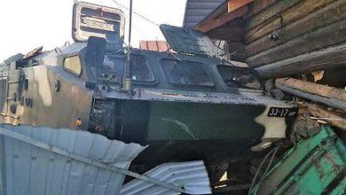 Photo of В Осиповичском районе ракетный комплекс врезался в жилой дом