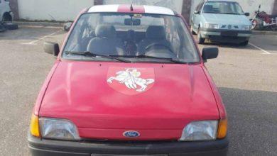 Photo of У слонимца конфисковали машину за герб «Погоня»