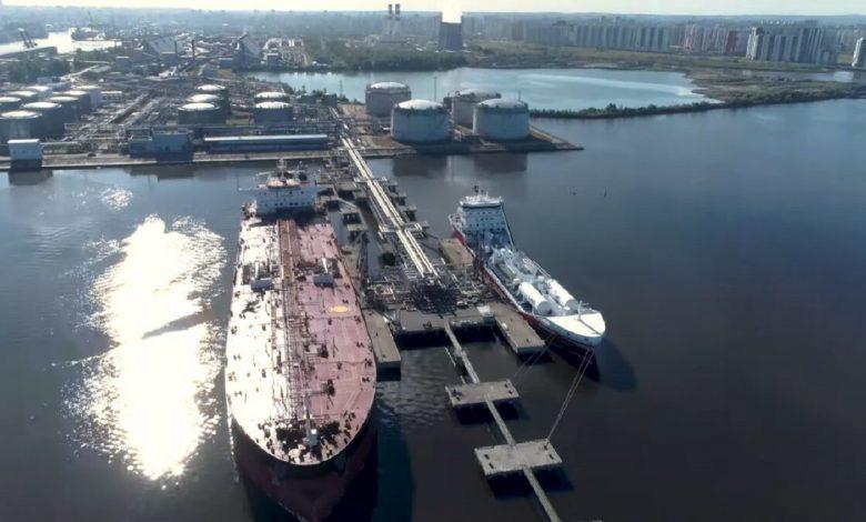 Перевалка нефтепродуктов РБ через порты РФ в мае-июне планируется в объеме 360 тыс. тонн