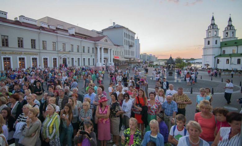 население, Беларусь, Минск