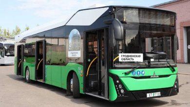 Photo of В Гродно прибыл первый электробус