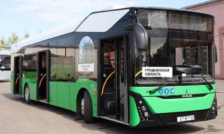 В Гродно прибыл первый электробус