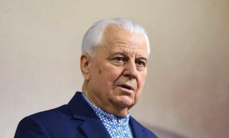 Леонид Кравчук, глава украинской делегации в переговорах по Донбассу