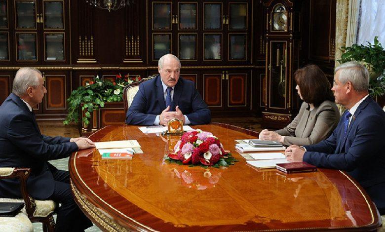 Лукашенко: «Мы делаем Конституцию будущего нашего государства»
