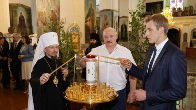 Photo of Лукашенко посещает Свято-Успенский Жировичский монастырь