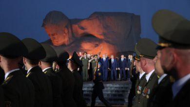 Photo of Тысячи людей пришли на рассвете в Брестскую крепость на митинг-реквием