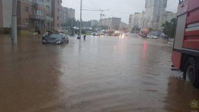 Photo of МЧС рассказало о последствиях непогоды в Минске