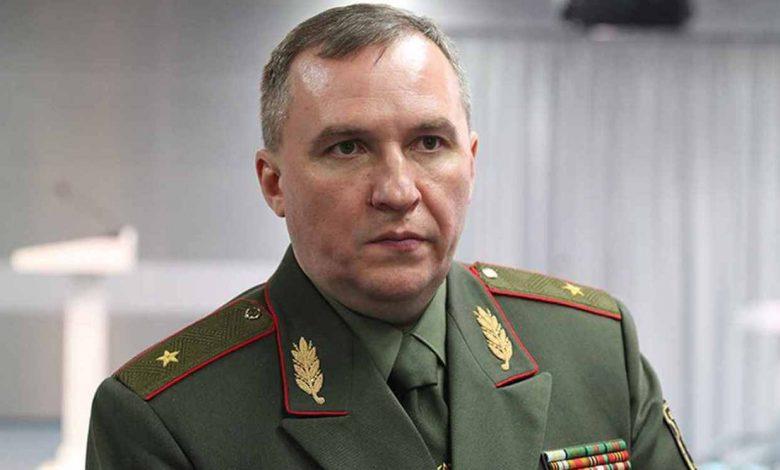 глава Минобороны Беларуси Виктор Хренин
