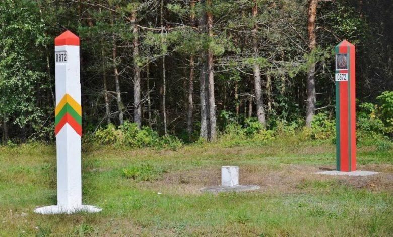 граница Беларуси и Литвы