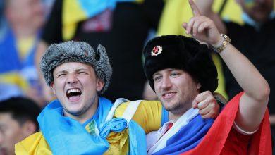 Photo of Украинские фанаты напали на российского болельщика на Евро-2020