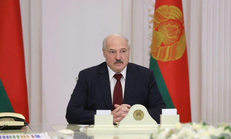 Александр Лукашенко на совещании