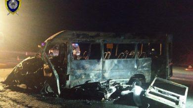 Photo of Микроавтобус и мотоцикл столкнулись под Минском: четыре человека погибли