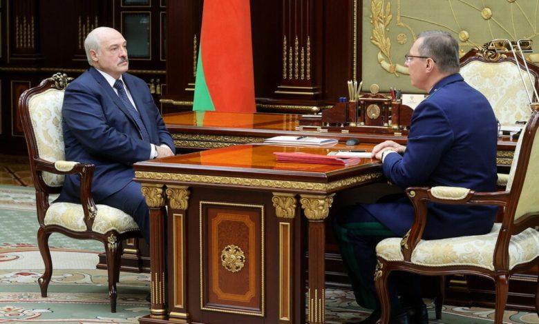 Александр Лукашенко 26 июля провёл рабочую встречу с генпрокурором Андреем Шведом