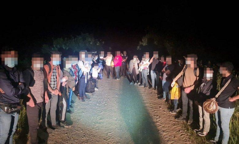 На белорусско-литовской границе вновь задержали 134 мигранта