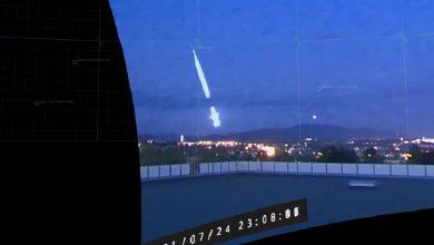 Photo of В Норвегии упал крупный метеорит