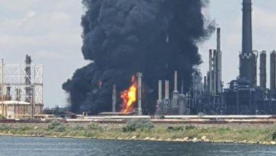 Photo of Сильный взрыв произошел на нефтеперерабатывающем заводе в Румынии