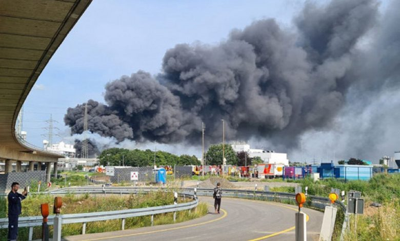 Взрыв произошел на химзаводе в немецком Леверкузене