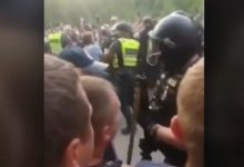 Photo of Полиция Литвы задержала 8 человек из числа блокировавших лагеря для нелегальных мигрантов