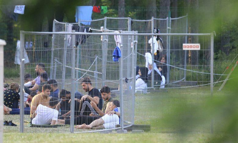 нелегальные мигранты в Литве
