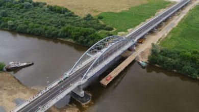Photo of В Рогачёве открыли движение по новому мосту через Днепр
