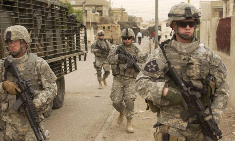 солдаты США, военнослужащие США