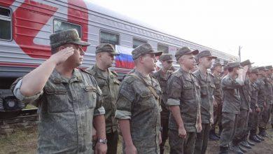 Photo of Очередной эшелон с российскими военными прибыл в Беларусь