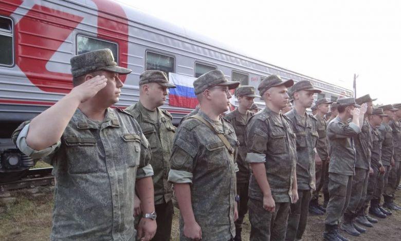 в Беларусь прибыли очередные эшелоны с военными из России