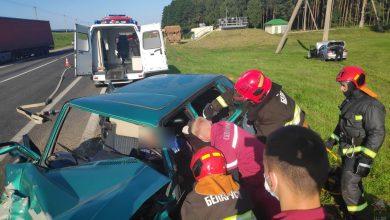 Photo of ДТП в Зельвенском районе: спасатели деблокировали двух человек