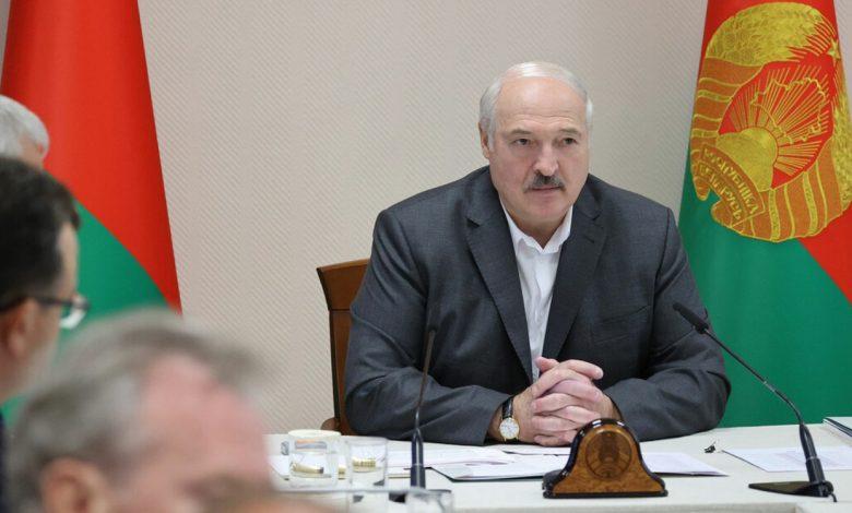 Александр Лукашенко 12 августа совершил визит в Витебский район
