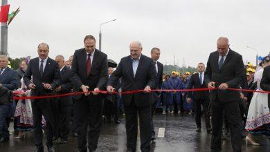 Photo of Александр Лукашенко открыл в Гродно новый мост через Нёман