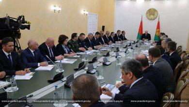 Photo of Лукашенко провел совещание в Гродненском облисполкоме