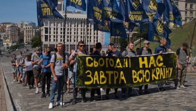 Photo of В Киеве в столкновениях с националистами пострадали семь полицейских