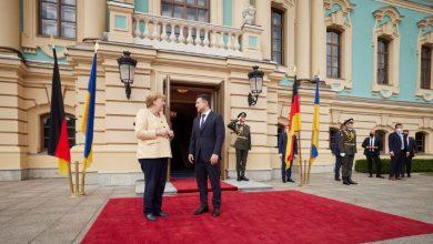 Photo of Меркель прилетела в Киев с однодневным визитом