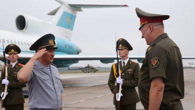 Photo of Начальник Генштаба ВС Казахстана прибыл в Беларусь с визитом