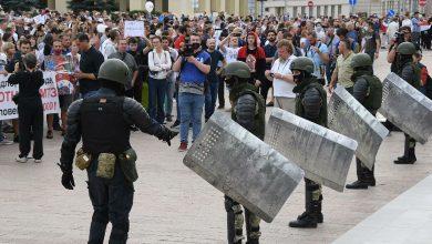 Photo of МВД: за весь период протестов в Беларуси из войск не ушёл никто