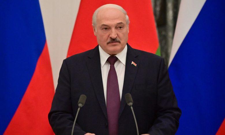 Александр Лукашенко 9 сентября во время пресс-конференции с Владимиром Путиным