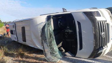 Photo of На юго-западе Турции перевернулся автобус с туристами