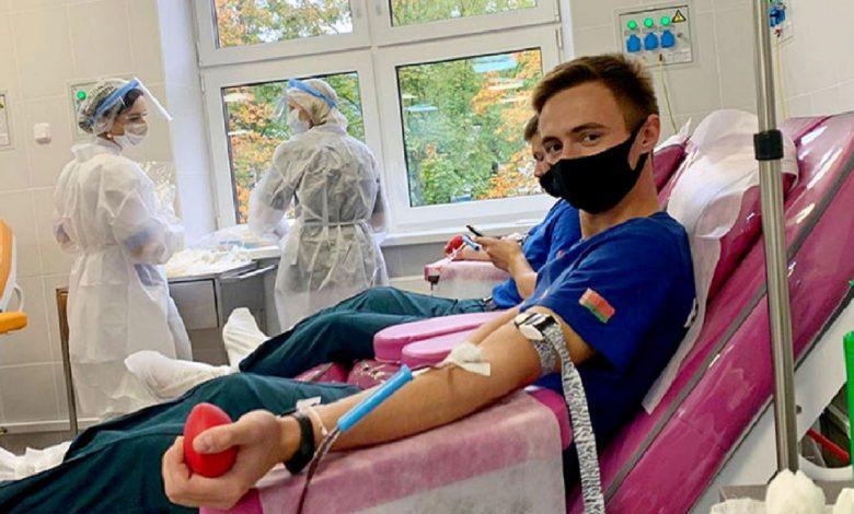 Курсанты МЧС в День народного единства стали донорами крови