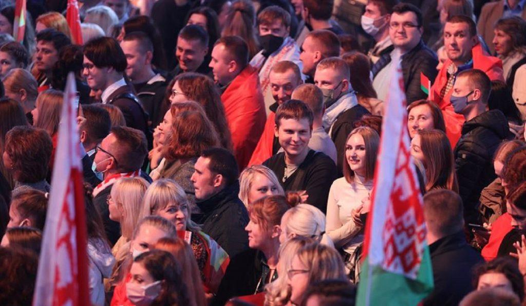 Лукашенко принимает участие в патриотическом форуме «Символ единства»