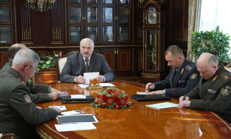 Александр Лукашенко 27 сентября принял руководство силового блока с докладом об обстановке на Государственной границе Беларуси