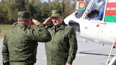 Photo of Лукашенко принимает участие в белорусско-российских стратегических учениях «Запад-2021»