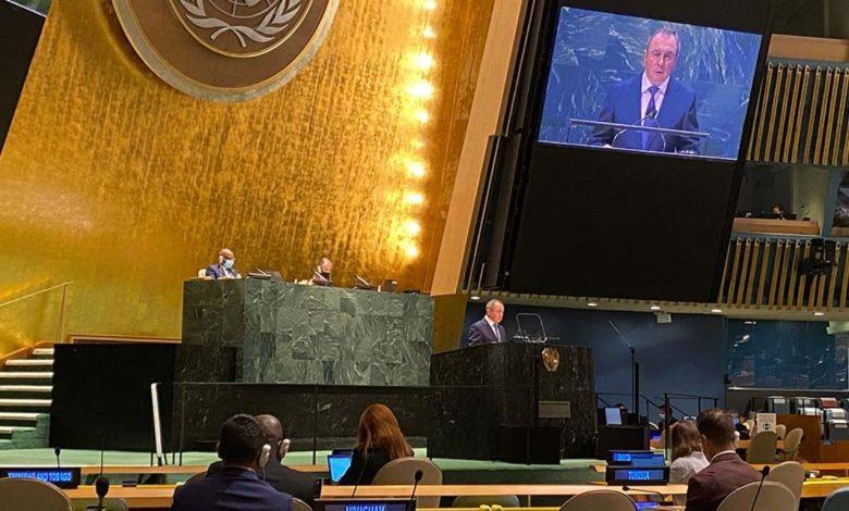 выступление министра иностранных дел Беларуси Владимира Макея на 76-й сессии Генеральной Ассамблеи ООН (27 сентября 2021 года)